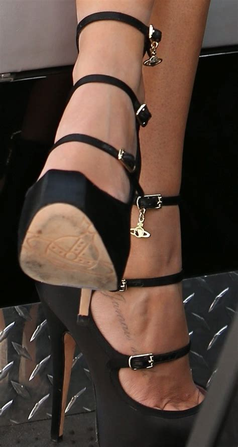Ashley Tisdale in Strappy Vivienne Westwood 'Isabelle' Pumps