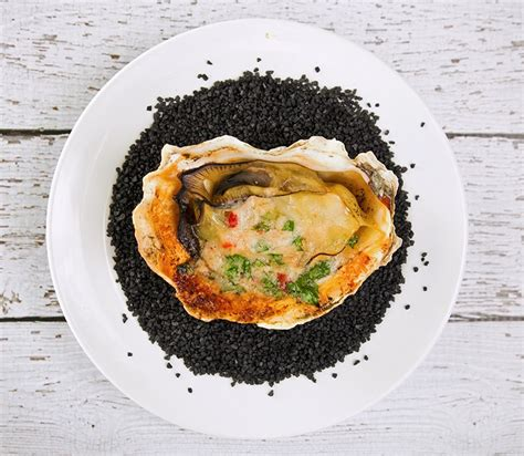Grilled Oysters with Parmesan Garlic Butter   Recipe   The