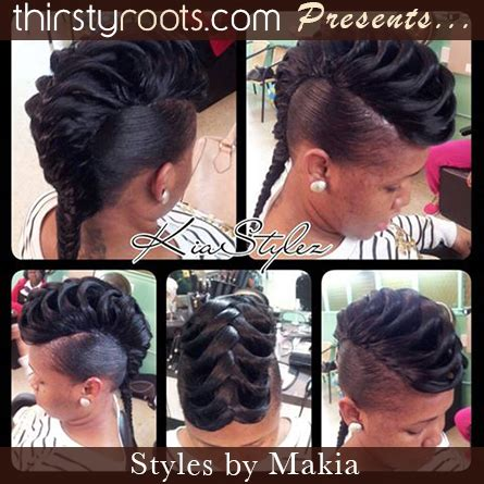 quickweave-fishtail-hairstyle - thirstyroots