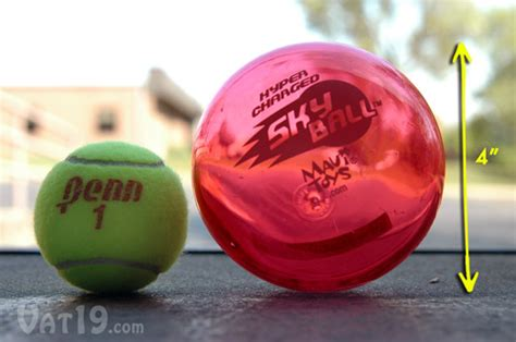 SkyBall HyperCharged Ball by Maui Toys: Bounces up to 75 feet