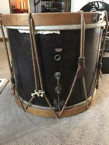 RARE 1930s Gretsch Mahogany Tension Rope Marching Snare