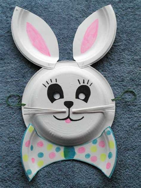 The RunnerDuck Kids Projects - Easter Bunny Mask