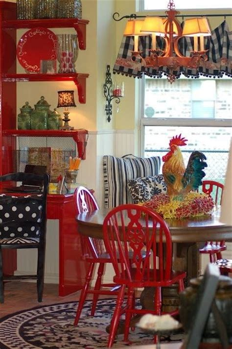 28 Red Dining Chairs in Interior Designs - MessageNote