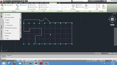 Creating a Layout Grid ON AutoCAD Architecture - YouTube