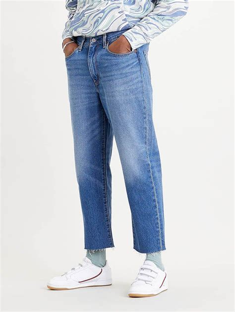 Buy Stay Loose Denim Cropped Jeans | Levi's® Official
