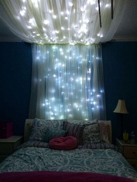 Canopy with fairy lights