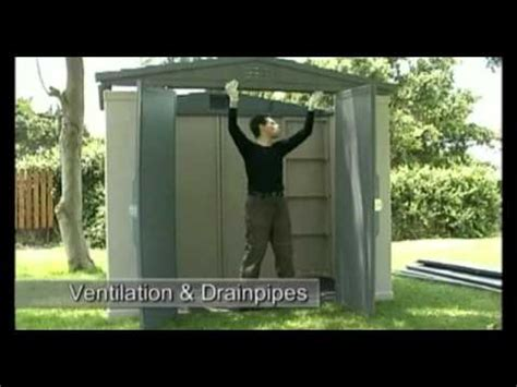 How to | Apex 8x6 | Plastic sheds | Keter - YouTube