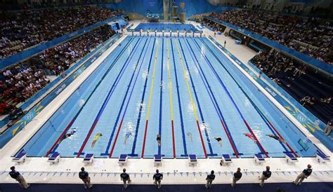 Fast swimmers make fast pools, but science lends a hand