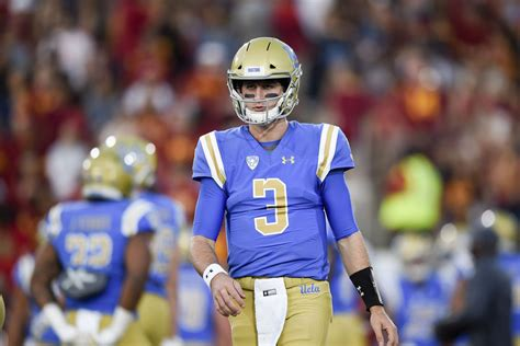 UCLA QB Josh Rosen Is Saying The Right Things In Advance
