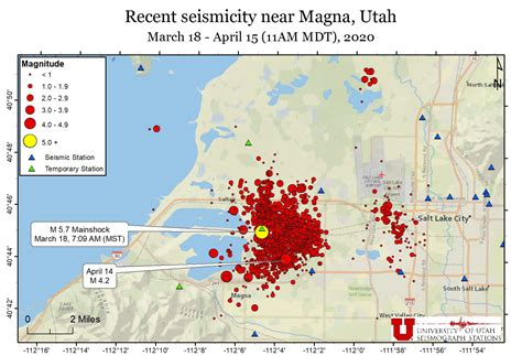 Aftershocks continue to rock Utah as ShakeOut approaches