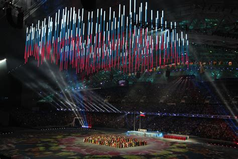 Sochi Olympic Ceremonies - LED Forest – TAIT