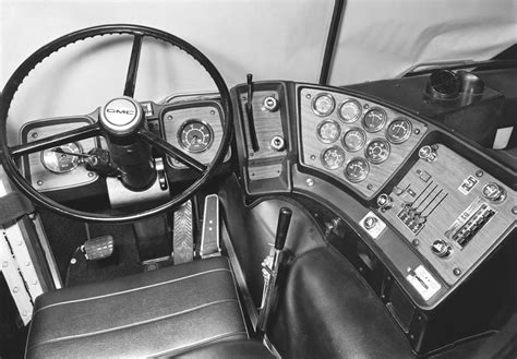 Semi-Trailer Cab Interior Photograph by Underwood Archives