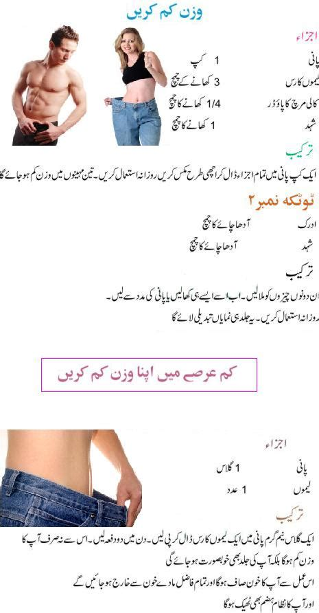 Quick Weight Loss Tips in Urdu ~ eBeauty Magazine