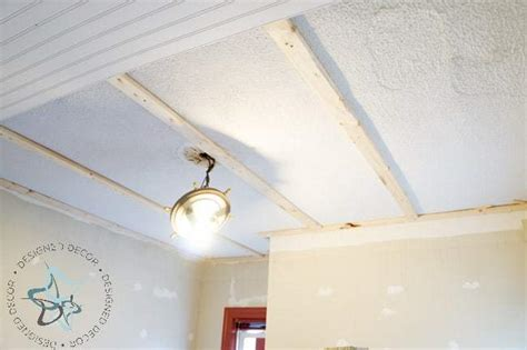 DIY Beadboard Ceiling and Crown Molding! ~- Designed Decor