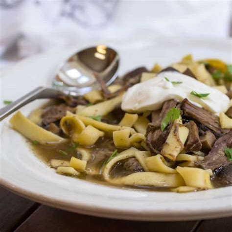 Beef Stroganoff Soup Recipe | Or Whatever You Do