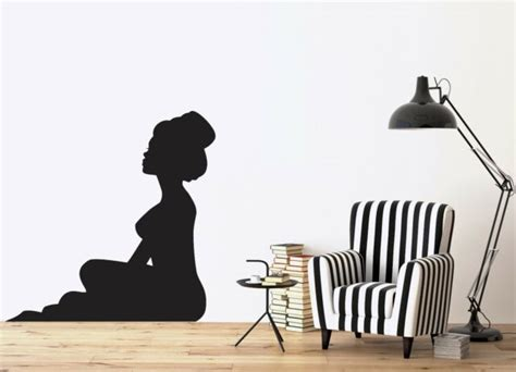 Wall Stickers Vinyl Decal Silhouette Beautiful Sexy Girl