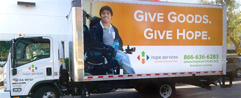 Schedule a Donation Pickup | Hope Services