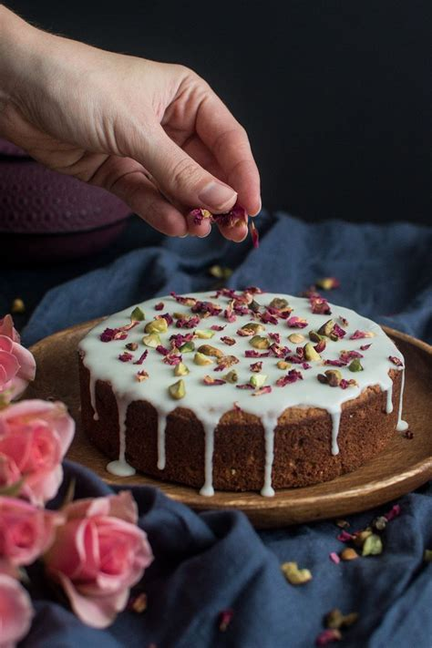 Persian Love Cake with Rose & Pistachios   Madeleine