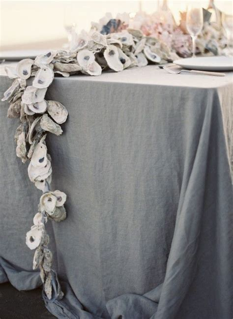 DIY Oyster Shell Garland - Once Wed
