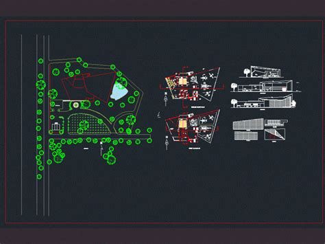 Aviation Museum DWG Full Project for AutoCAD • Designs CAD