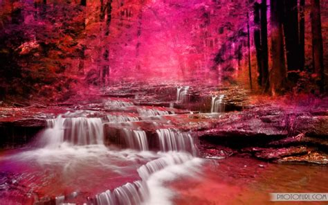 Colorful Waterfall Wallpapers | Free Wallpapers