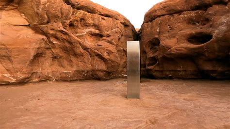 Hiker recounts seeing mysterious monolith removed from