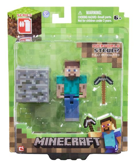 Minecraft: Action Figures With Accessories: Steve