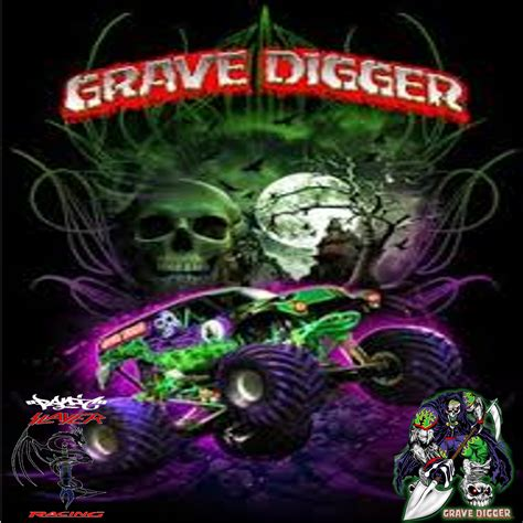 grave digger by Robert M
