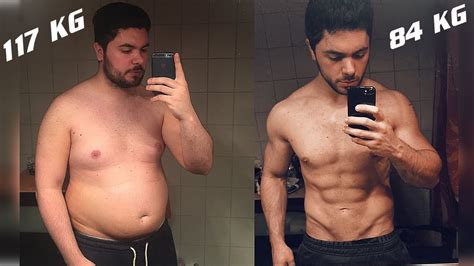 MY BODY TRANSFORMATION from 117 to 85 KG ! - YouTube