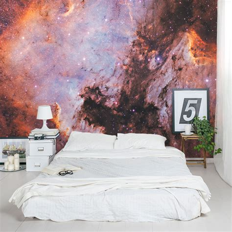 Outer Space Wall Decal   Nebula Wall Decal   Wallums